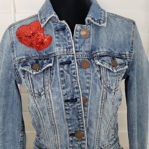 American Eagle Outfitters Jackets & Coats - American Eagle denim jacket size xs